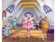 3D foto tapeta Walltastic Angelina Ballerina 40557 | 305x244 cm Foto tapete