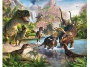 3D foto tapeta Walltastic Dinosauri 41745 | 305x244 cm Foto tapete