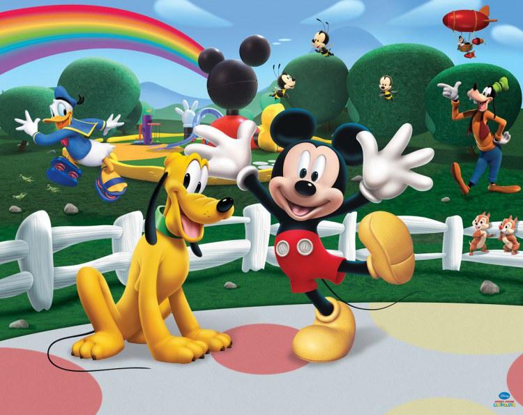 3D foto tapeta Walltastic Mickey Mouse 42056 | 305x244 cm - Foto tapete