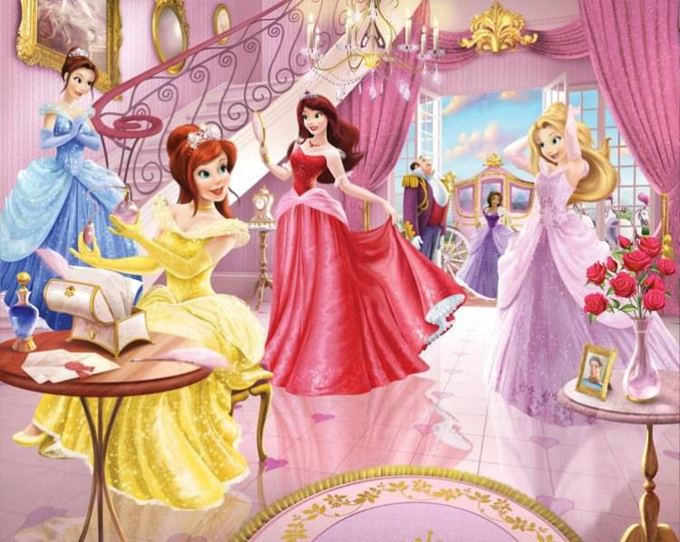 3D foto tapeta Walltastic Princeze 40649 | 305x244 cm