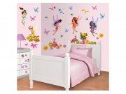 Dječja naljepnica Fairies 41110 Naljepnice za dječju sobu