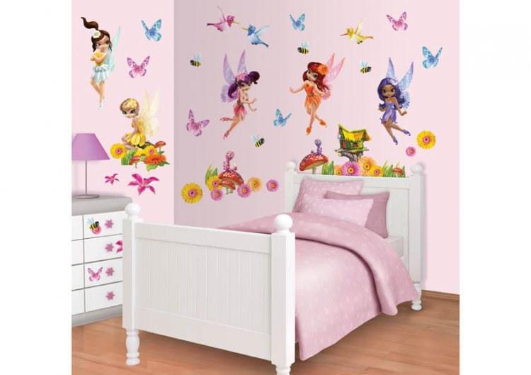 Dječja naljepnica Fairies 41110 - Naljepnice za dječju sobu