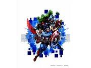 Dječje naljepnice Avengers nepobjedivi DK-1715, 85x65 cm Naljepnice za dječju sobu