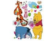 Dječje naljepnice Winnie Pooh DK-1758, veličina 42,5 x 65 cm Naljepnice za dječju sobu