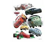Dječje naljepnice Cars i rallye DK-0886, 85x65 cm Naljepnice za dječju sobu