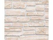 Vinil tapeta za zid kameni zid bež 6621-25 Na skladištu