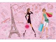 Flis foto tapeta Dimex Pariški stil XL-405 | 330x220 cm Foto tapete