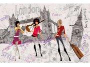 Flis foto tapeta Dimex Londonski stil XL-406 | 330x220 cm Foto tapete