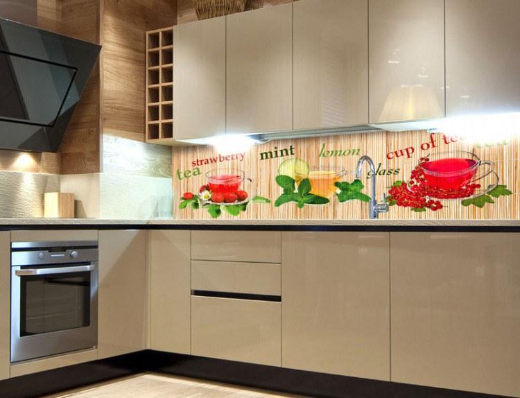 Samoljepljiva foto tapeta za kuhinje Čaj KI-180-024, 180x60 cm - Foto tapete