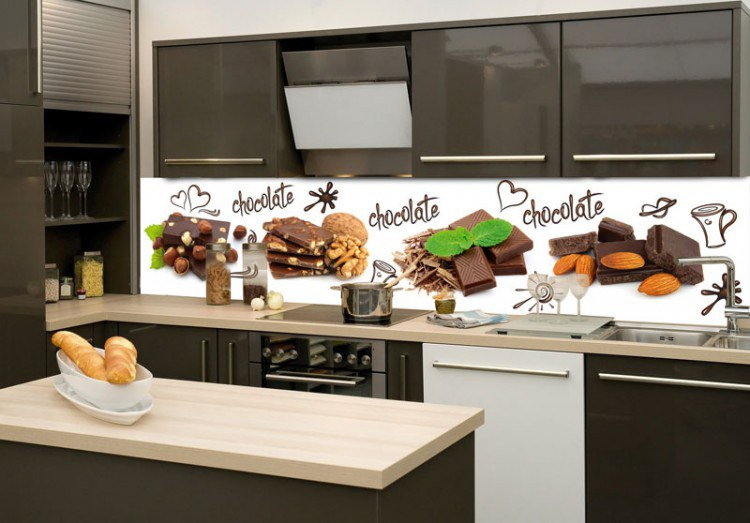 Samoljepljiva foto tapeta za kuhinje Čokoláada KI-260-021, 260x60 cm - Foto tapete