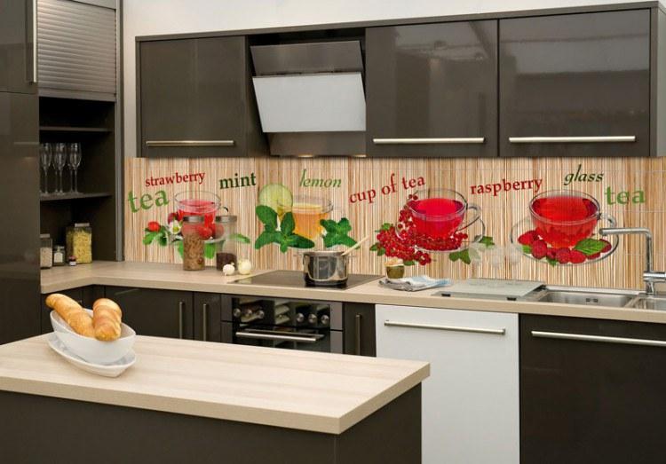 Samoljepljiva foto tapeta za kuhinje Čaj KI-260-024, 260x60 cm - Foto tapete