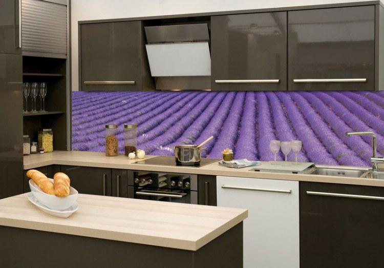 Samoljepljiva foto tapeta za kuhinje Lavanda KI-180-029, 180x60 cm - Foto tapete