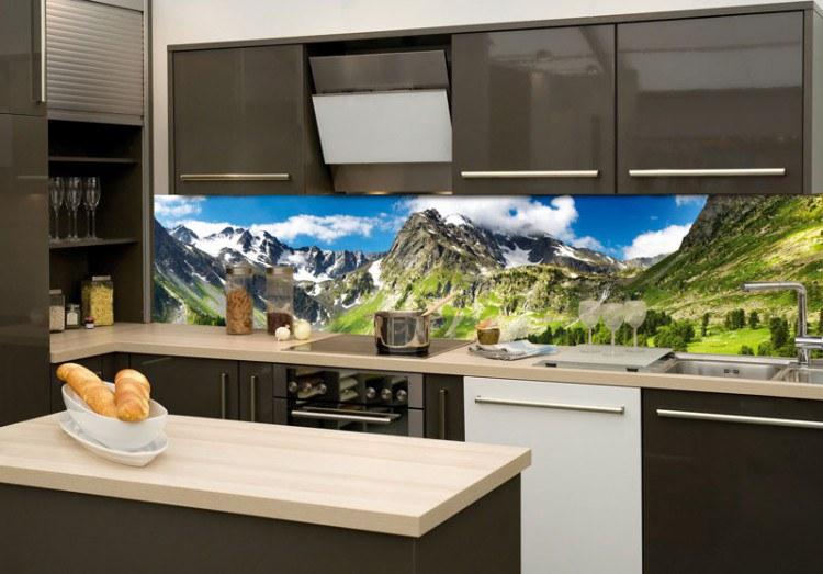 Samoljepljiva foto tapeta za kuhinje Planine KI-180-033, 180x60 cm - Foto tapete