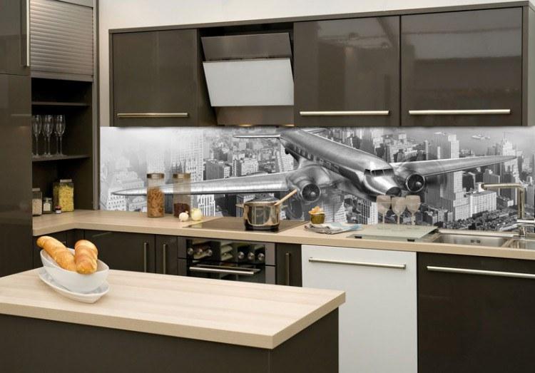 Samoljepljiva foto tapeta za kuhinje Avion KI-180-039, 180x60 cm - Foto tapete