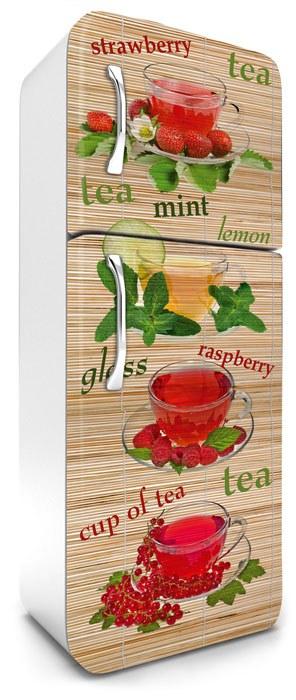 Samoljepljiva foto tapeta za hladnjak Čajevi FR-180-021, 65x180 cm - Foto tapete