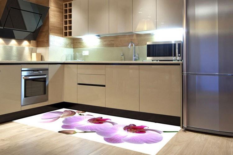 Samoljepljiva foto tapeta za pod Orhideja FL-85-015, 85x170 cm - Foto tapete
