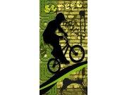 Samoljepljiva foto tapeta za vrata DL046 Bicycle, 95x210 cm Foto tapete