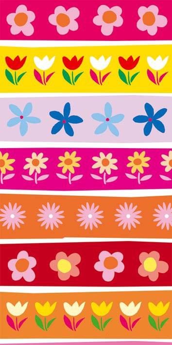 Samoljepljiva foto tapeta za vrata DL037 Flowers, 95x210 cm - Foto tapete