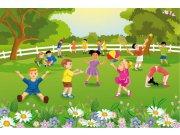 Flis foto tapeta Dimex Djeca u vrtu XL-273   330x220 cm Foto tapete