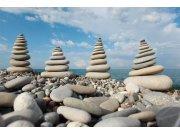 Flis foto tapeta Dimex Kamenje na plaži XL-183 | 330x220 cm Foto tapete