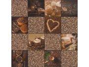 Periva vinilna tapeta za zid Tiles More 303711 Rasch