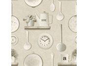 Periva vinilna tapeta za zid Tiles More 307115 Rasch