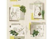 Periva vinilna tapeta za zid Tiles More 307405 Rasch