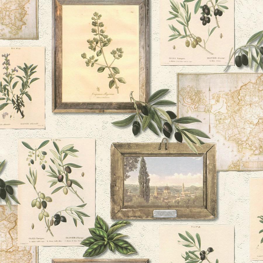 Periva vinilna tapeta za zid Tiles More 307207 - Rasch