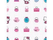 Dječja papirnata tapeta za zid Hello Kitty 73499, 0,52 x 10 m Na skladištu