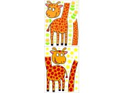 Dječje naljepnice Žirafe K-1049, 170x65 cm Naljepnice za dječju sobu
