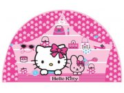 Dječje naljepnice Hello Kitty D23560, 53x28 cm Naljepnice za dječju sobu