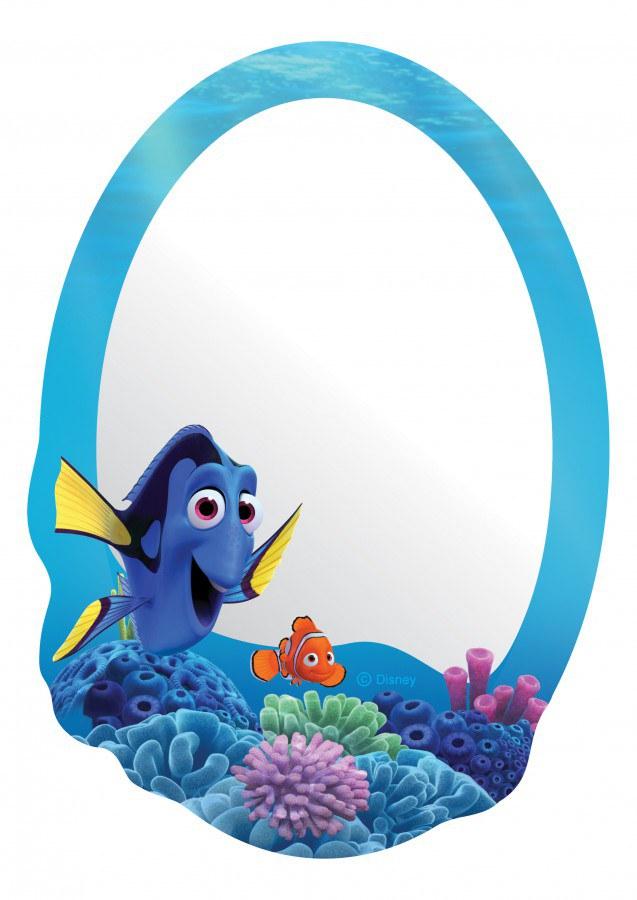 Dječje naljepnice ogledalo Nemo DM-2112, 15x 22 cm - Naljepnice za dječju sobu