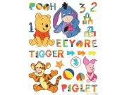 Dječje naljepnice Winnie Pooh Baby DK-0892, 85x65 cm Naljepnice za dječju sobu