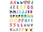 Dječje naljepnice Mickey abeceda DK-0895, 85x65 cm Naljepnice za dječju sobu