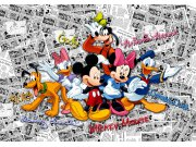 Flis foto tapeta AG Mickey Movse FTDNXXL-5056 | 360x270 cm Foto tapete