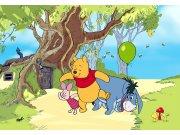 Flis foto tapeta AG Winnie Pooh FTDNXXL-5058 | 360x270 cm Foto tapete