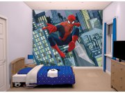 3D foto tapeta Walltastic Spiderman 43824 | 305x244 cm Foto tapete