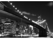 Flis foto tapeta AG Brooklyn bridge FTNS-2469 | 360x270 cm Foto tapete