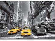 Flis foto tapeta AG Manhattan cars FTNS-2474 | 360x270 cm Foto tapete