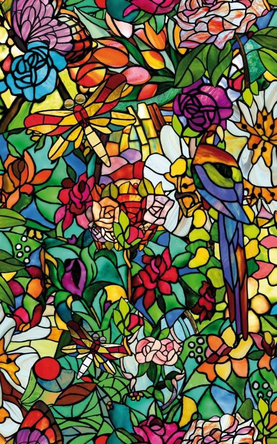 Samoljepljiva folija Transparentna Vitraž 200-3231 d-c-fix, širina 45 cm - Za staklo
