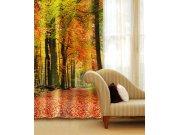 Zavjesa Jesenjska šuma CU-140-009, 140x245 cm Foto zavjese