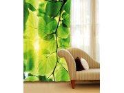 Zavjesa Zeleno lišće CU-140-014, 140x245 cm Foto zavjese