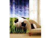 Zavjesa Nogometna lopta CU-140-027, 140x245 cm Foto zavjese