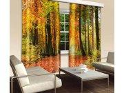 Zavjesa Jesenjska šuma CU-280-009, 280x245 cm Foto zavjese