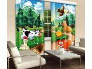 Zavjesa Životinje u šumi CU-280-030, 280x245 cm Foto zavjese