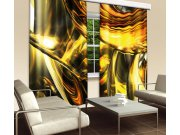 Zavjesa Zlatna apstrakcija CU-280-025, 280x245 cm Foto zavjese