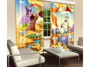 Zavjesa Životinje u Savani CU-280-029, 280x245 cm Foto zavjese