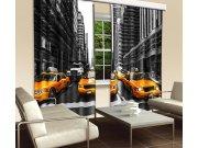 Zavjesa Žuti taxi CU-280-001, 280x245 cm Foto zavjese