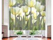 Zavjesa Bijeli tulipani VO-140-012, 140x120 cm Zavjese