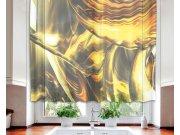 Zavjesa Zlatna apstrakcija VO-140-028, 140x120 cm Zavjese